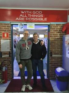 Roberto Zardinoni con Cristian Zanatta